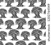 vector pattern of sketches of... | Shutterstock .eps vector #1202764549
