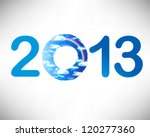 creative 2013 happy new year... | Shutterstock .eps vector #120277360