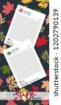 trendy editable template for... | Shutterstock .eps vector #1202790139