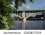 daytime view of the i 35w... | Shutterstock . vector #1202817529
