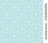 art deco seamless background. | Shutterstock .eps vector #1202836006