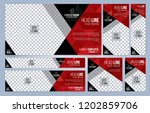 Red And Black Web Banners...