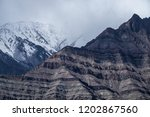 lanscape scene of mountain... | Shutterstock . vector #1202867560
