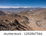 stok range of the himalayas... | Shutterstock . vector #1202867566