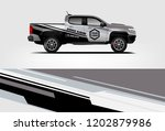 truck wrap design. wrap ...   Shutterstock .eps vector #1202879986