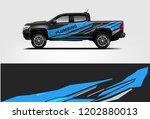 truck wrap design. wrap ...   Shutterstock .eps vector #1202880013
