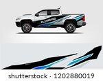 truck wrap design. wrap ...   Shutterstock .eps vector #1202880019