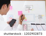 startup business  young... | Shutterstock . vector #1202902873