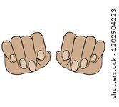 isolated vector illustration.... | Shutterstock .eps vector #1202904223