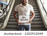 positive smiling hindu man... | Shutterstock . vector #1202913349