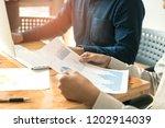 business people working...   Shutterstock . vector #1202914039