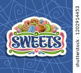 vector logo for sweets  cut... | Shutterstock .eps vector #1202914453