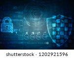 2d illustration safety concept  ... | Shutterstock . vector #1202921596