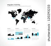 set elements of infographics | Shutterstock .eps vector #120293233