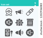 contains such icons as strategy ... | Shutterstock .eps vector #1202936083