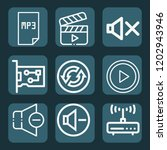 contains such icons as network... | Shutterstock .eps vector #1202943946