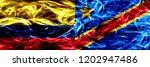 colombia vs democratic republic ... | Shutterstock . vector #1202947486