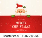 we wish you a merry christmas.... | Shutterstock .eps vector #1202949256