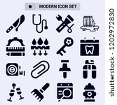 collection of 16 tool filled...   Shutterstock .eps vector #1202972830