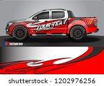 pickup truck decal designs ... | Shutterstock .eps vector #1202976256