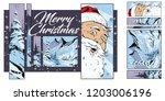 stock illustration. people in... | Shutterstock .eps vector #1203006196