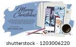 stock illustration. people in... | Shutterstock .eps vector #1203006220