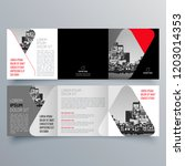 brochure design  brochure... | Shutterstock .eps vector #1203014353