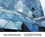 building structures aluminum... | Shutterstock . vector #1203019246