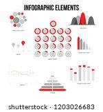 infographic elements  data... | Shutterstock .eps vector #1203026683