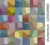 36 squares grid  made up of... | Shutterstock .eps vector #1203030883