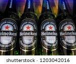 bangkok  thailand   october 14  ... | Shutterstock . vector #1203042016
