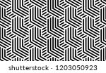abstract geometric pattern with ... | Shutterstock .eps vector #1203050923