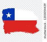 flag chile  brush stroke...