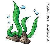 sea kale. vector illustration...   Shutterstock .eps vector #1203070459