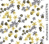 small floral seamless pattern... | Shutterstock .eps vector #1203093796