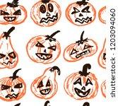 Halloween.  Vector Seamless...