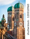 Munich Cathedral - Liebfrauenkirche in Munich - germany - stock photo