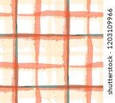 plaid. seamless grunge pattern... | Shutterstock .eps vector #1203109966