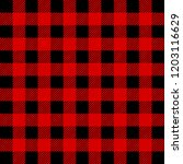 lumberjack buffalo plaid ... | Shutterstock .eps vector #1203116629