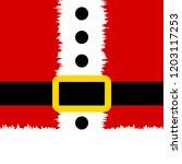 santa claus banner. christmas... | Shutterstock .eps vector #1203117253