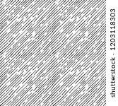 seamless pattern of hand drawn... | Shutterstock . vector #1203118303
