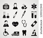 medical icons set.vector | Shutterstock .eps vector #120312343