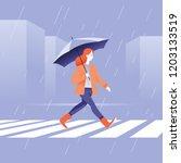 vector illustration in flat...   Shutterstock .eps vector #1203133519