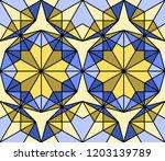 geometric seamless pattern....   Shutterstock .eps vector #1203139789