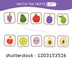 matching children educational... | Shutterstock .eps vector #1203153526