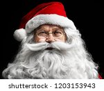 Santa Claus's Human Face On ...