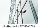 close up view of a contemporary ... | Shutterstock . vector #1203165796