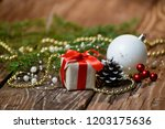 christmas song for the holiday | Shutterstock . vector #1203175636