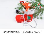 christmas decor for the holiday | Shutterstock . vector #1203177673