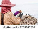 kep  cambodia   may 25  2014  a ... | Shutterstock . vector #1203180910